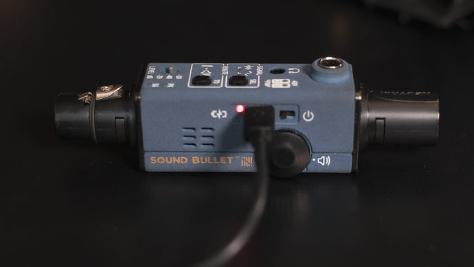 Sound Bullet in Use - The Battery