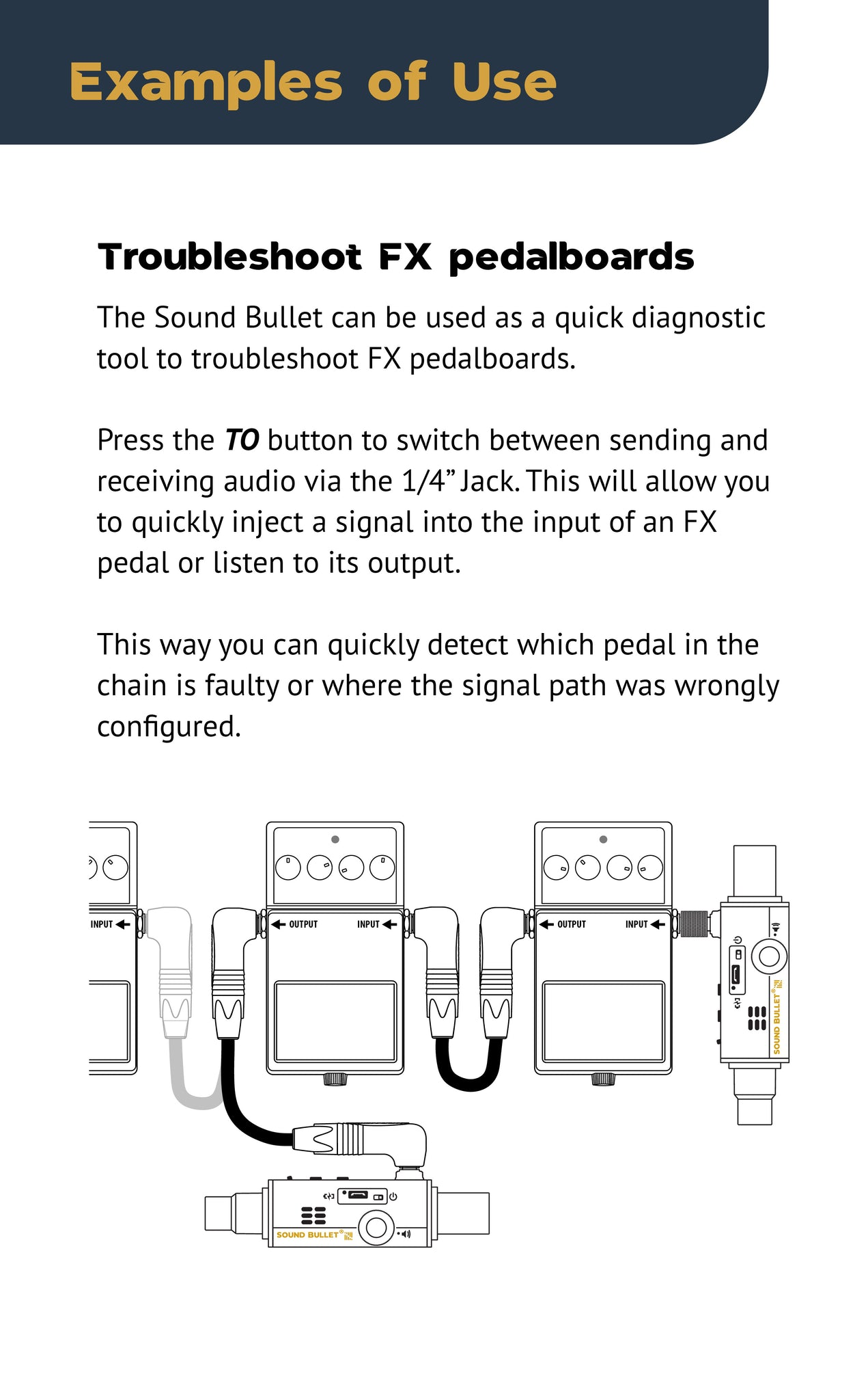 Sound Bullet User Manual - Page 10