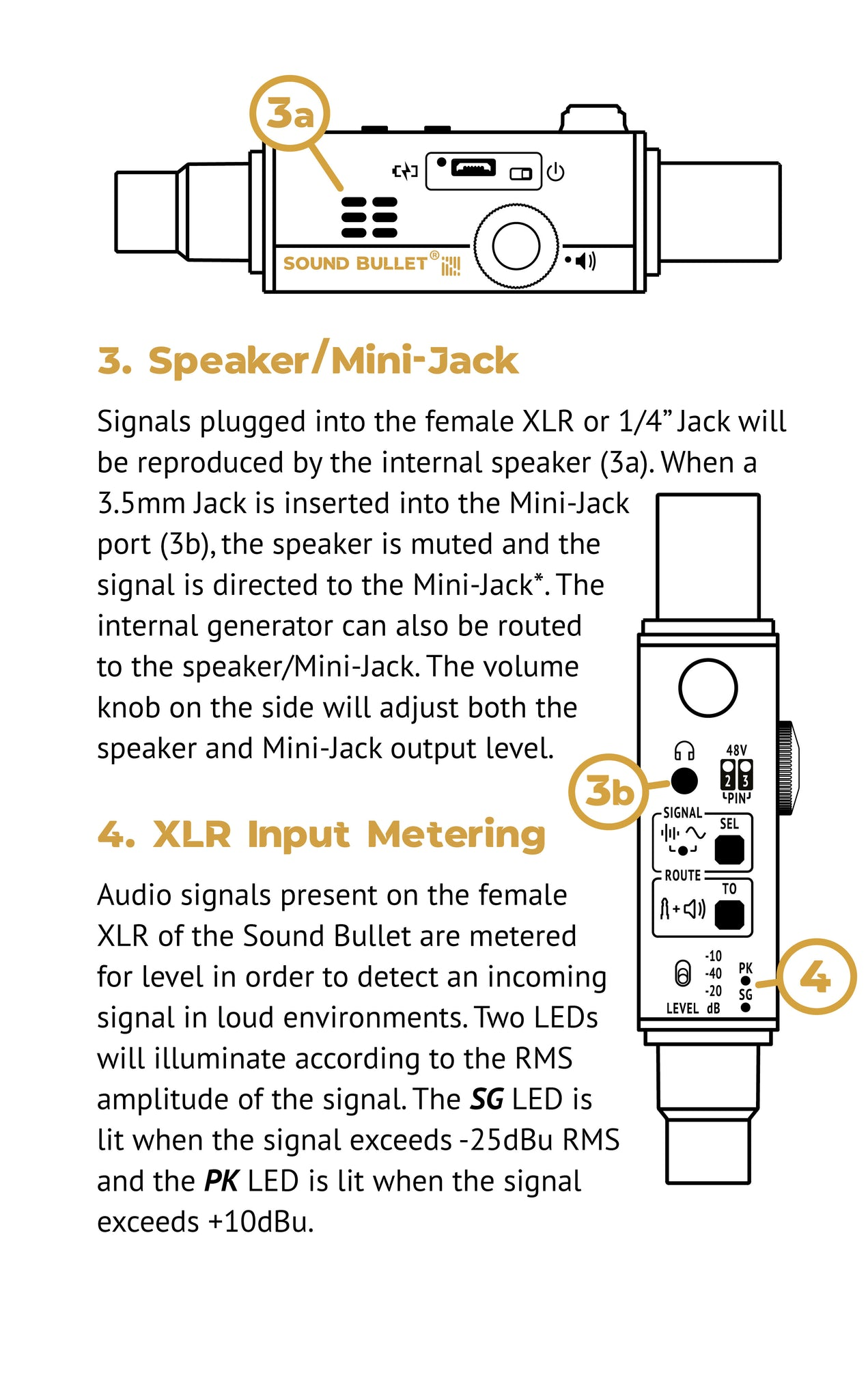 Sound Bullet User Manual - Page 6