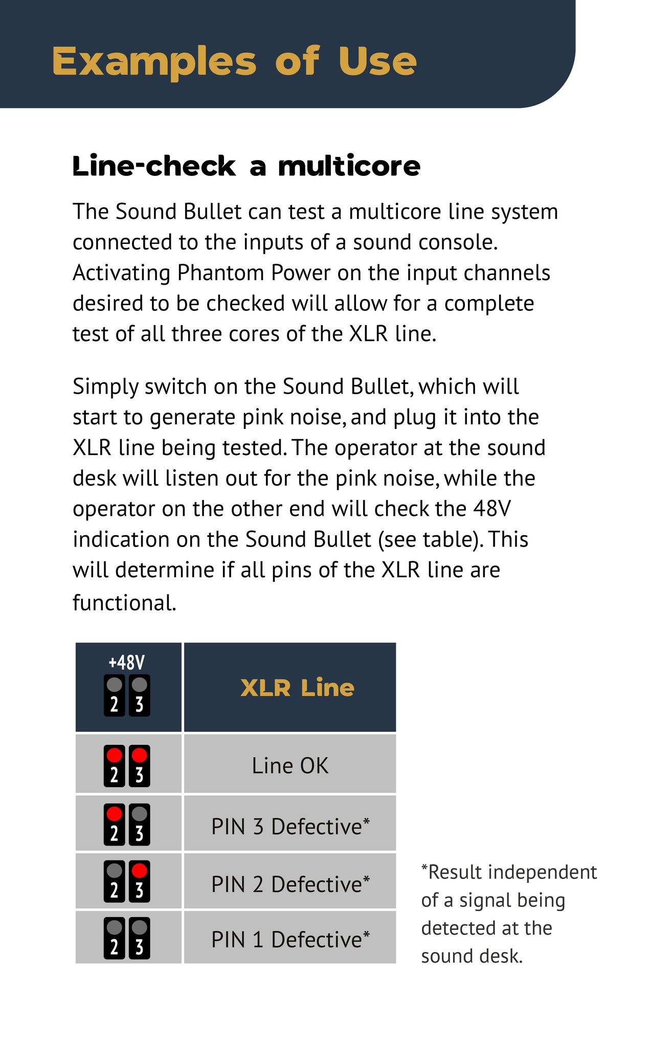 Sound Bullet User Manual - Page 8