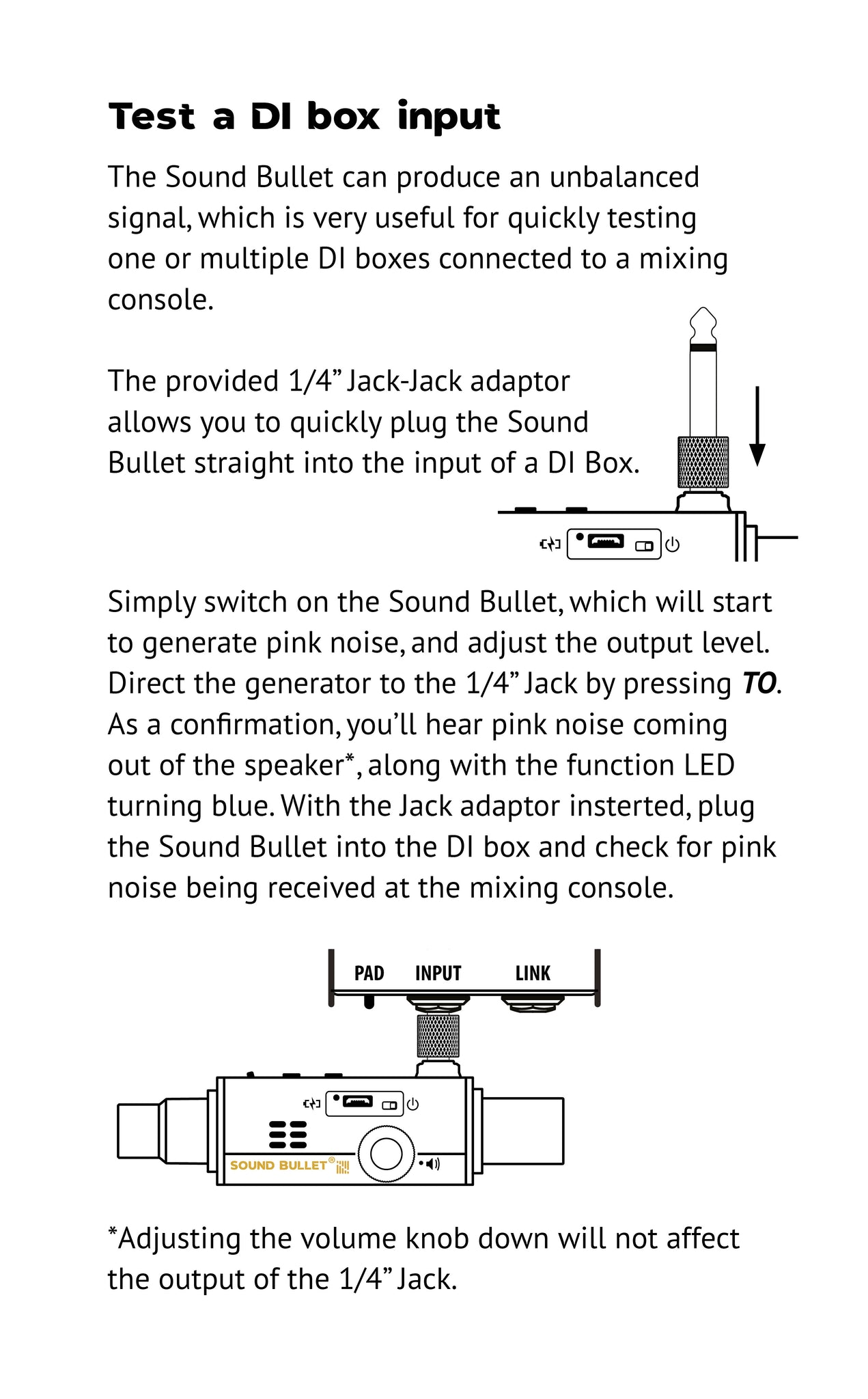 Sound Bullet User Manual - Page 9