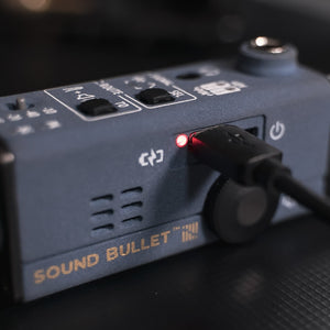 sound bullet connect rechargable battery