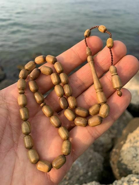Acacia Turkish Prayer Beads Tasbih Akasya Agac Tesbih Tasbeeh Worry Beads 320