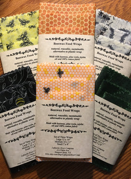 Beeswax Reusable Food Wrap (3 Pcs)
