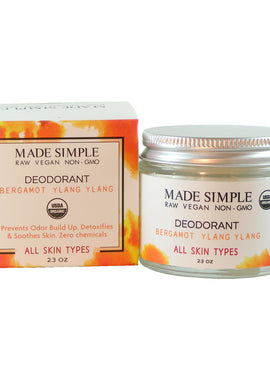 Organic Vegan Deodorant- Made Simple Skin Care