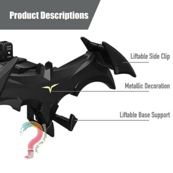 Bat-Wings Car Phone Holder