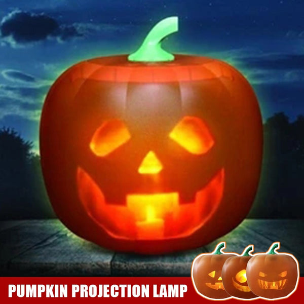 Halloween Talking Animated LED Pumpkin Flash Projection Lamp For Home Party Halloween Decoration Flash Talking Pumpkin LED