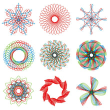 Load image into Gallery viewer, 28Pcs Spirograph Drawing Set