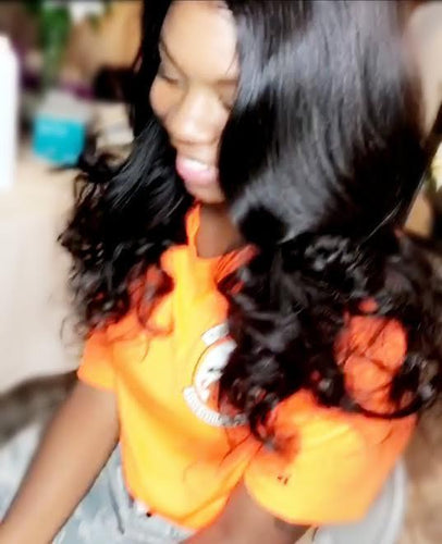 REAL SCALP ILLUSION™ Full Lace Wig in Billionaire Body Wave!!