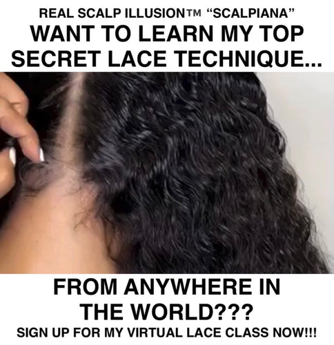 "VIRTUAL REAL SCALP ILLUSION ""SCALPIANA"" CLASS"