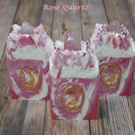 Rose Quartz Gemstone Soap Bar