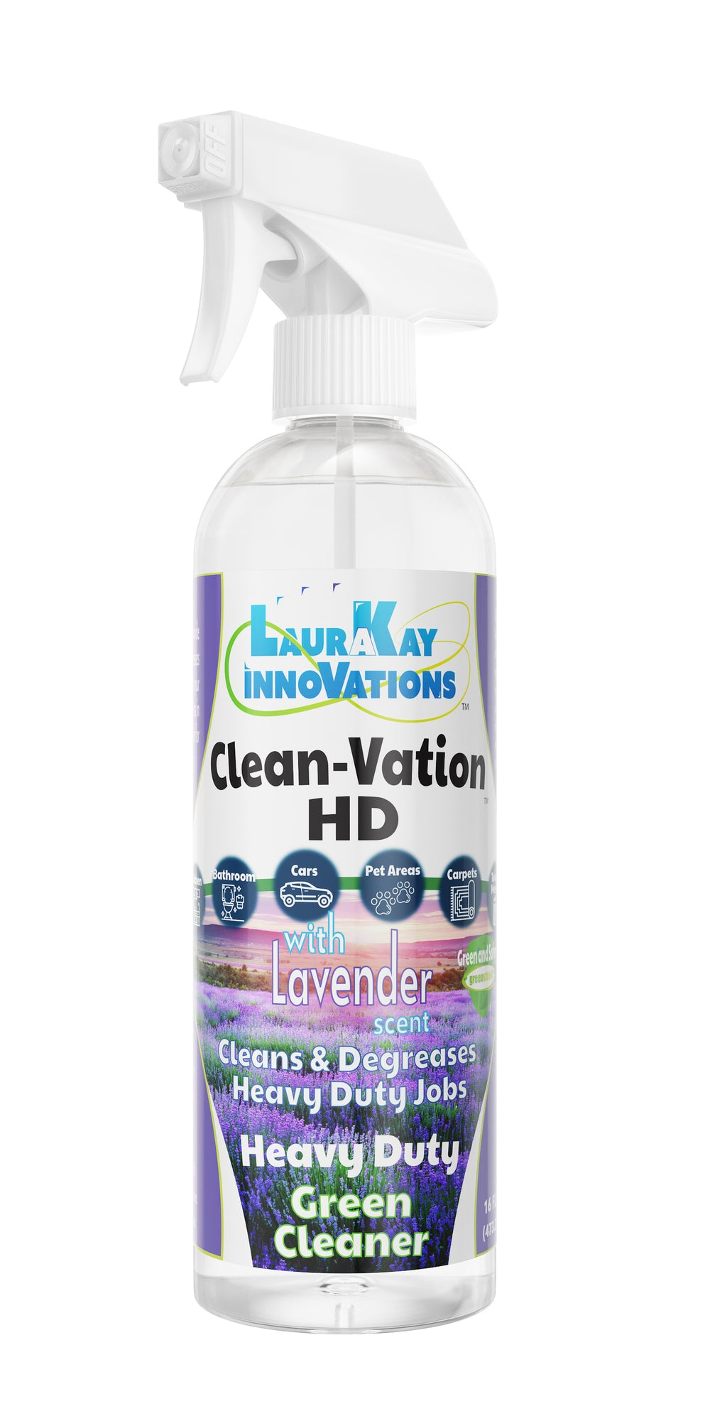 CleanVations HD Smashes tough jobs including grease!