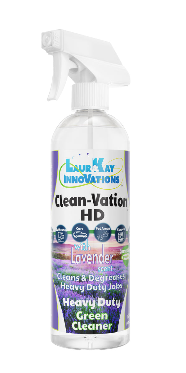 CleanVation™ Heavy Duty Concentrated Safe Degreaser 3 in 1 Multi-Surface and Carpet Stain Cleaner - Lavender
