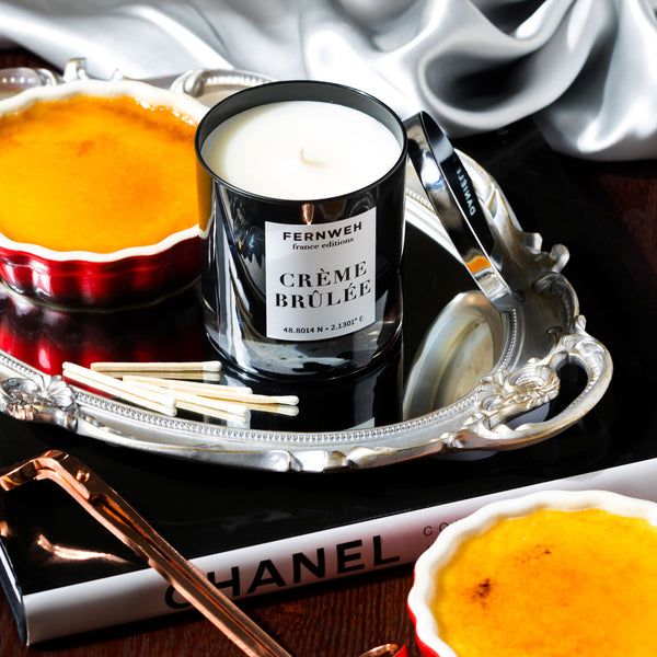 the creme brulee candle