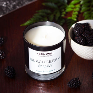 Cascadia: Blackberry & Bay Candle