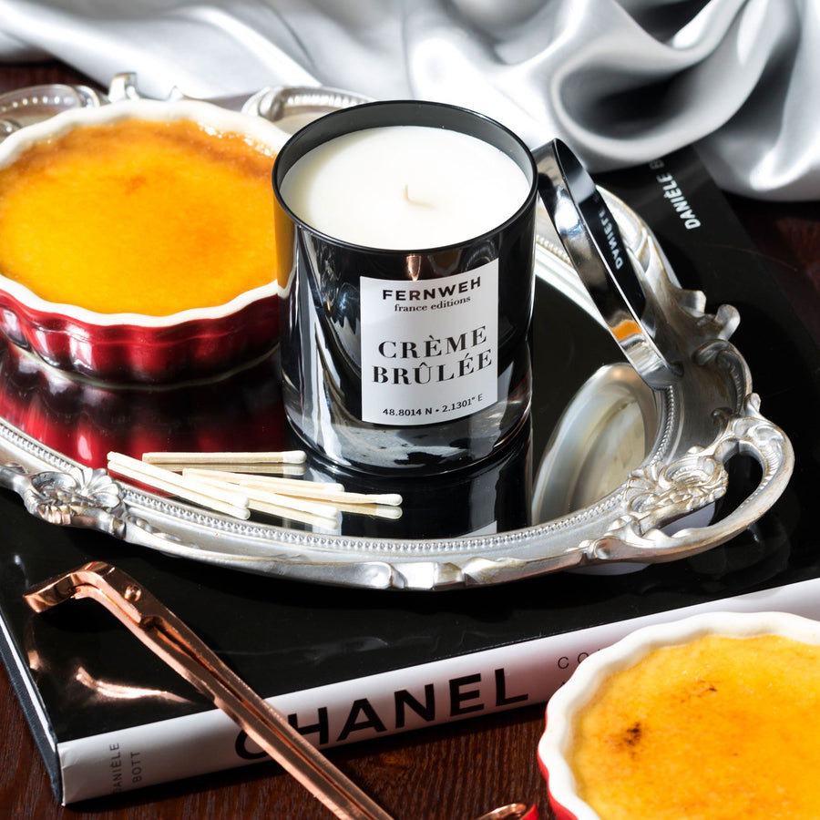 France: Crème Brûlée Candle France France Editions Classic (11 oz)