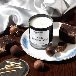 France: Dark Chocolate Candle