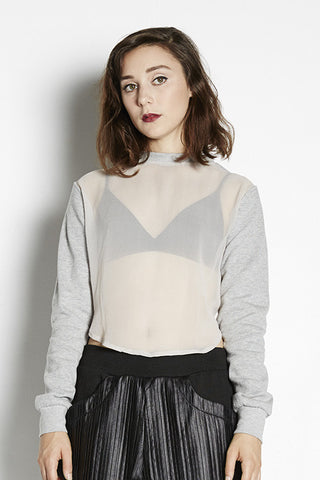 Exposure Cropped Jumper
