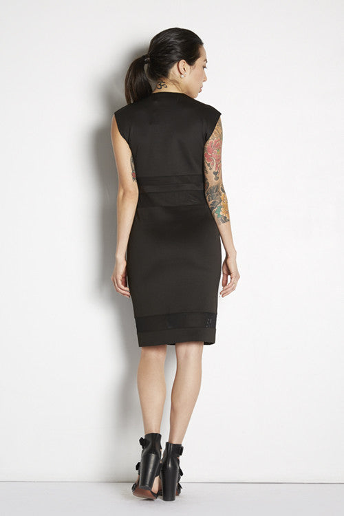 Mock Turtleneck Bodycon Dress