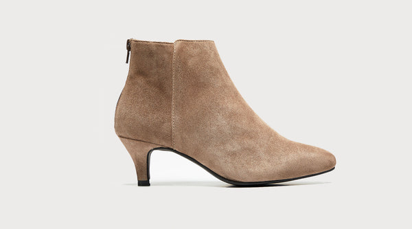 suede ankle boot fashion style