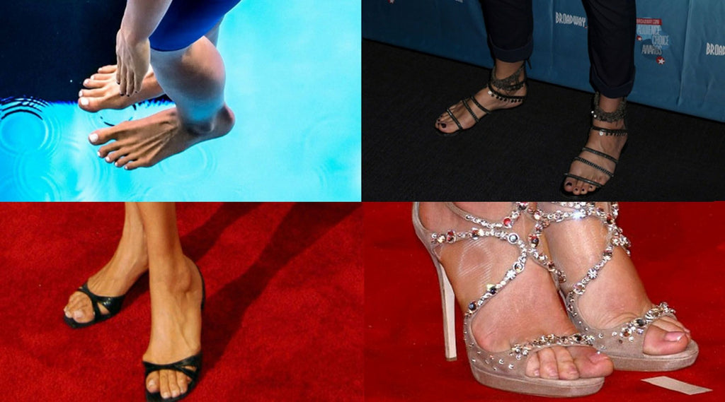 Feet who in has hollywood prettiest the Top 23