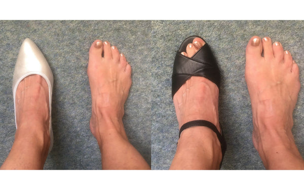 happy customer review of emily and ava heels for bunions