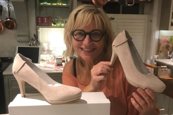 Celebrity Big Brother's Sally Morgan says our heels are 'super comfy'