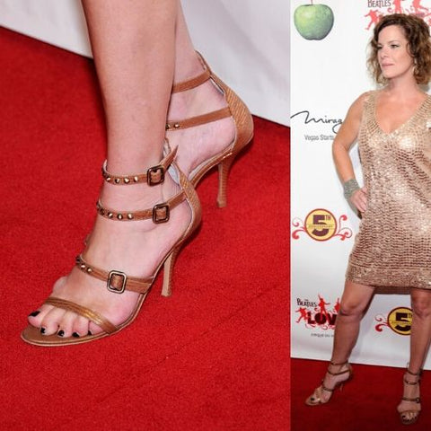 celebrities with bunions marcia gay harden feet
