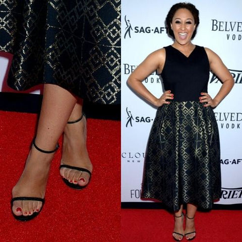 celebrities with bunions tamera mowry housley
