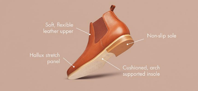 boots for bunions features explained