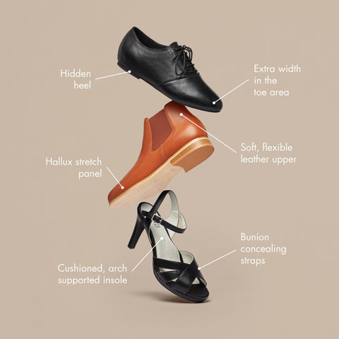 features of calla shoes