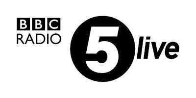 BBC radio 5 live press feature logo