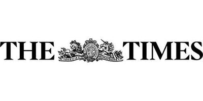 The times logo press feature