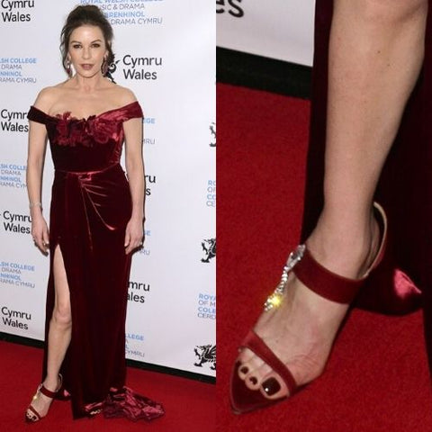 celebrities with bunions catherine zeta jones