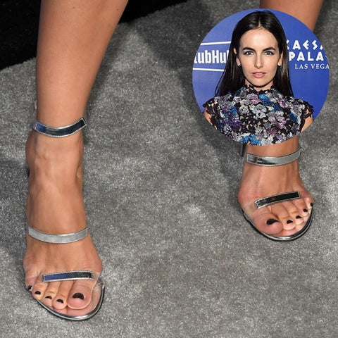 celebrities with bunions camilla belle feet