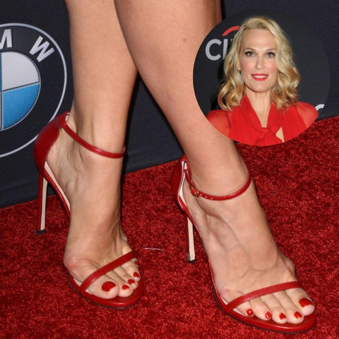 celebrities with bunions molly sims feet