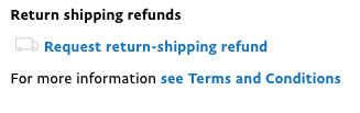 paypal return shipping refund