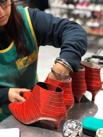 handcrafted shoes for bunions