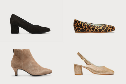the calla range of shoes for bunions