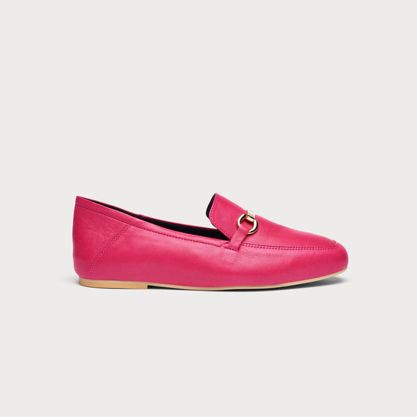 Beatrice - Fuchsia Leather