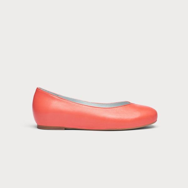 Charlotte - Coral Leather