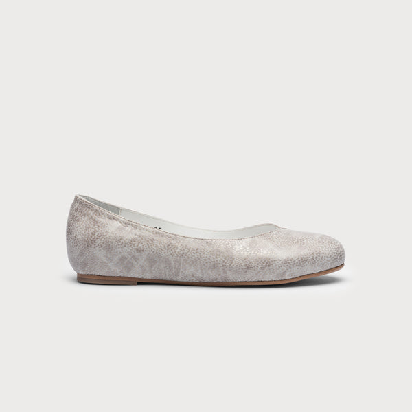 Charlotte - Textured Grey Leather