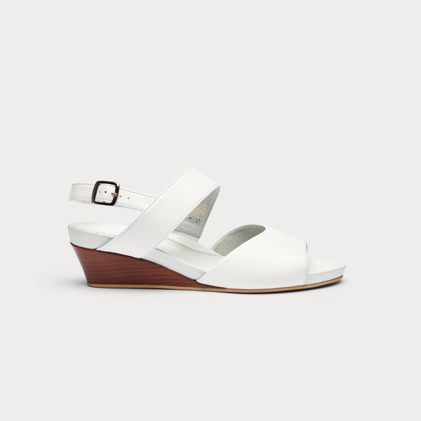 Jemima - White Leather