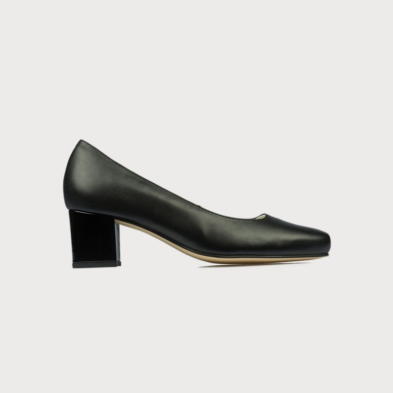 black heel block shoes comfortable stylish bunions wide feet