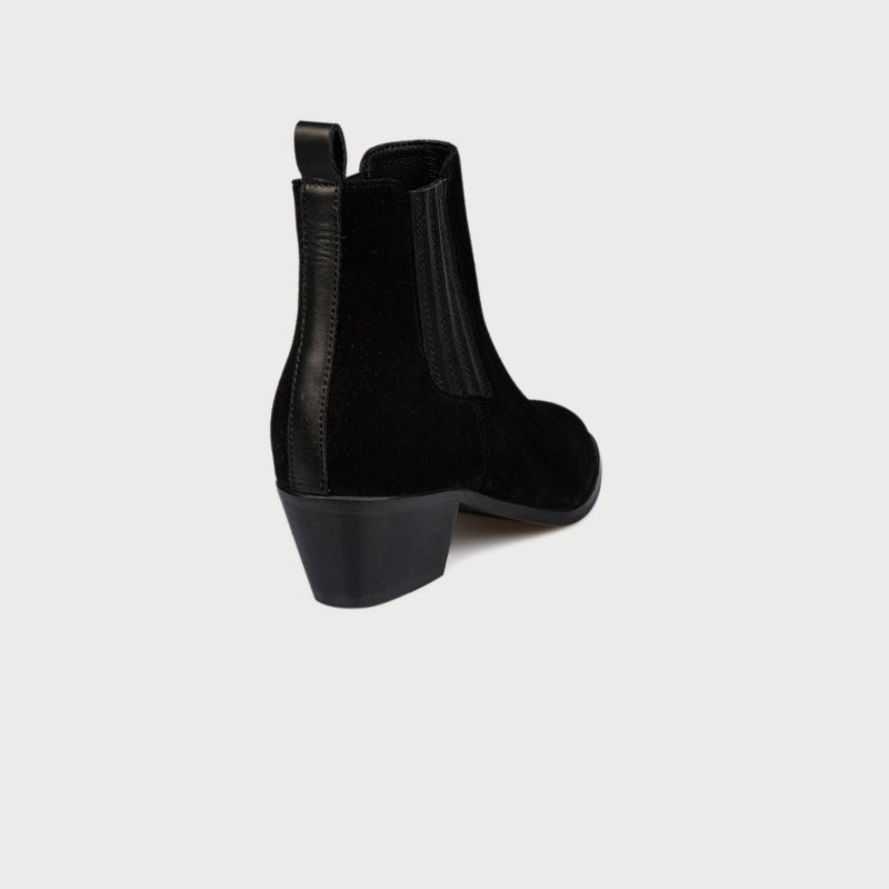 black suede bunion shoes boots comfortable shoes
