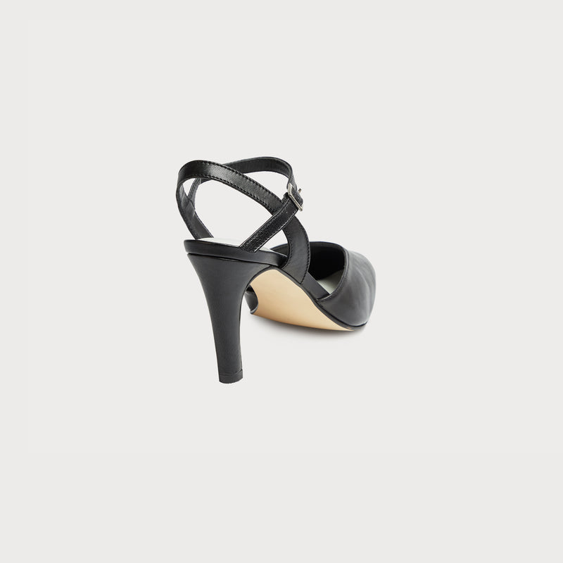 black leather shoes bunions wide feet heels court shoes