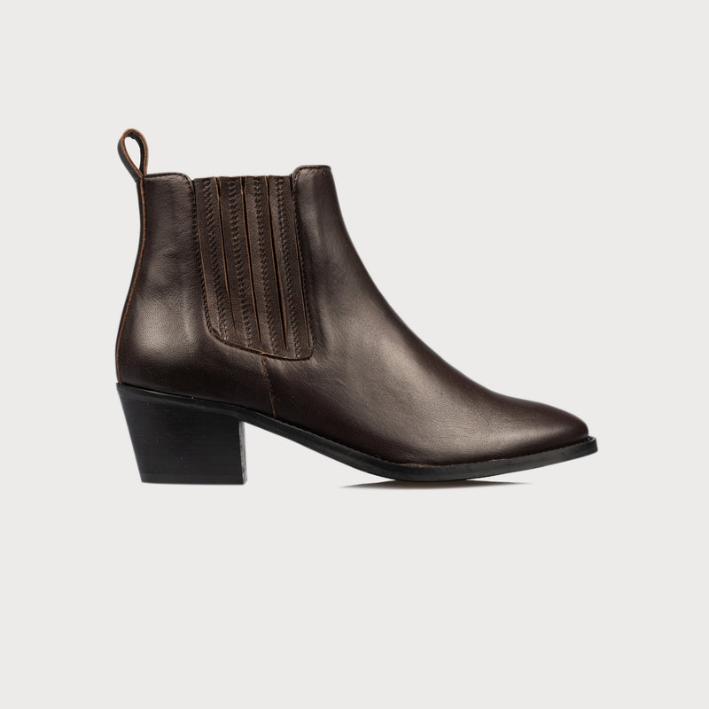 brown leather chelsea boots bunions comfort comfortable