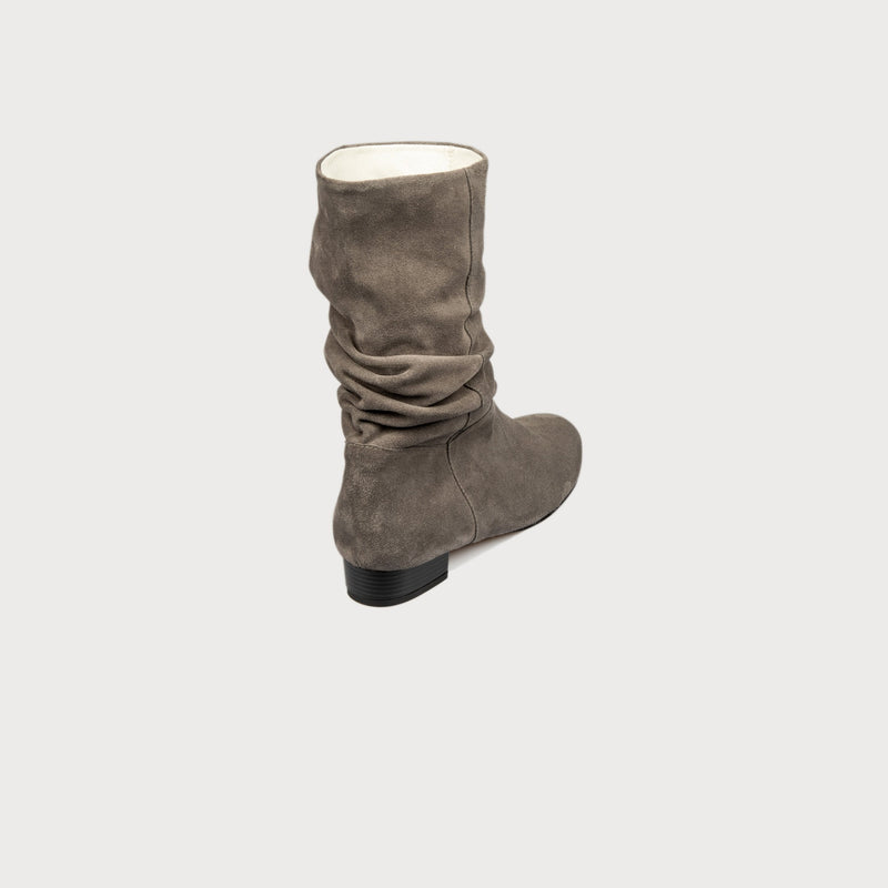 shoes comfortable bunions boot grey suede stylish