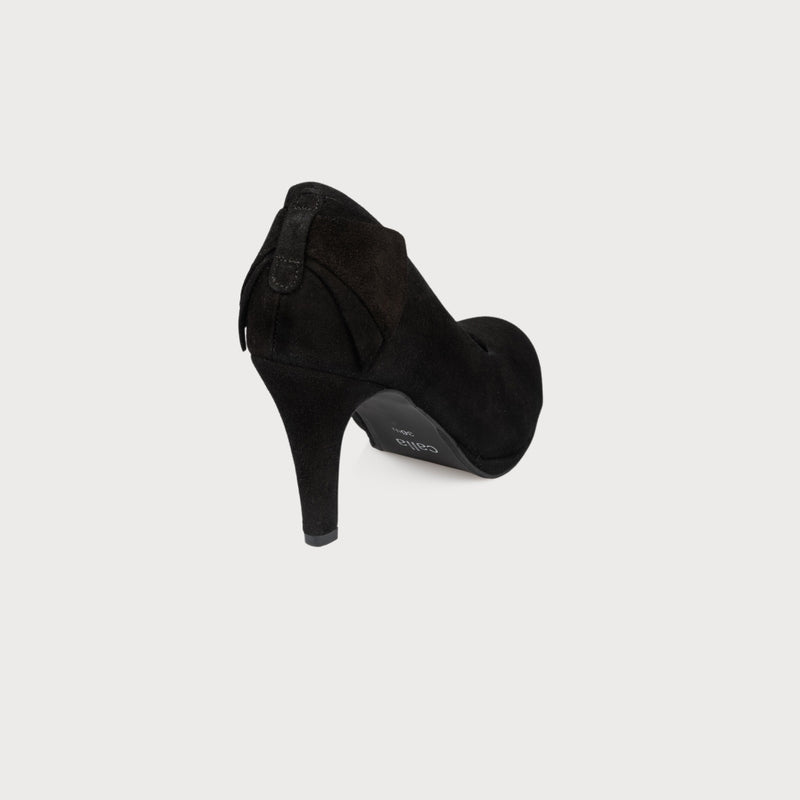 black high heels bunions wide feet comfortable stylish