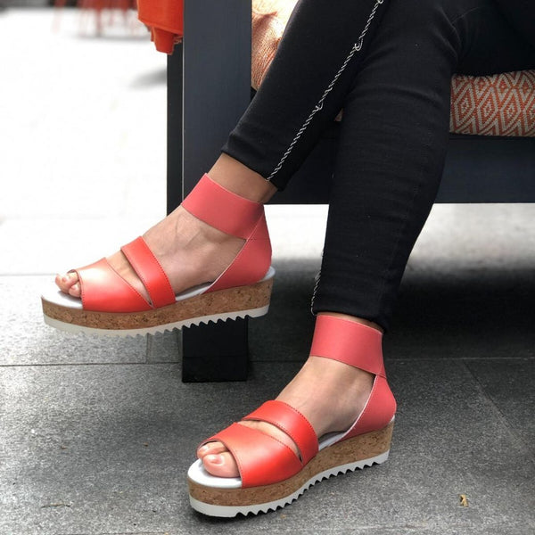 calla coral sandals for bunions on feet